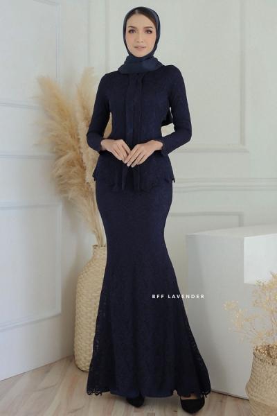 Lacey Luxe Dark Blue