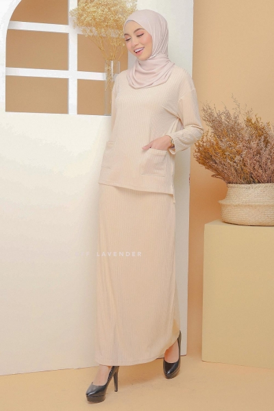 Set Ironless Comfortwear Beige