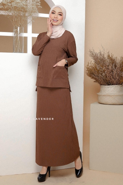 Set Ironless Comfortwear Brown