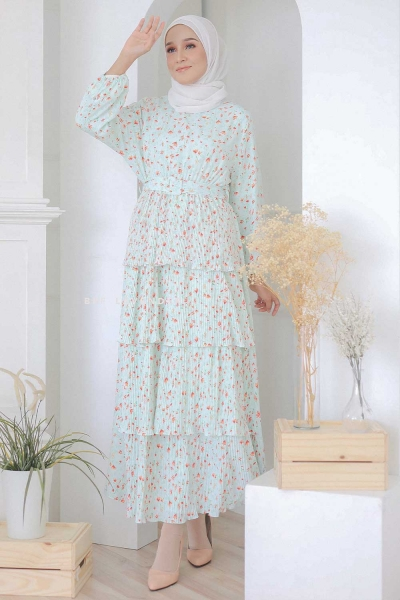 Love Dress Green Turquoise
