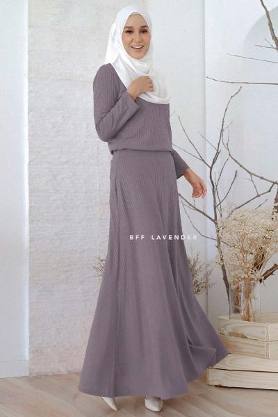 Flared Ironless Comfortwear Grey