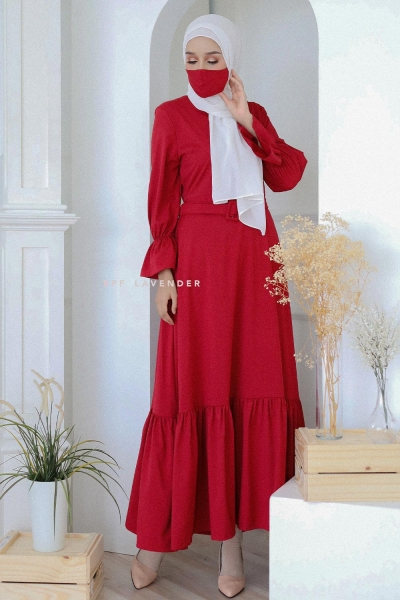 Dress Kalisa Red