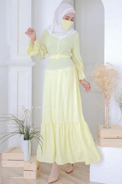 Dress Kalisa Soft Yellow